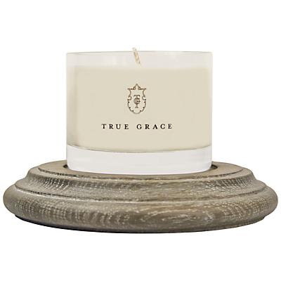 True Grace Oak Plinth Candle Holder