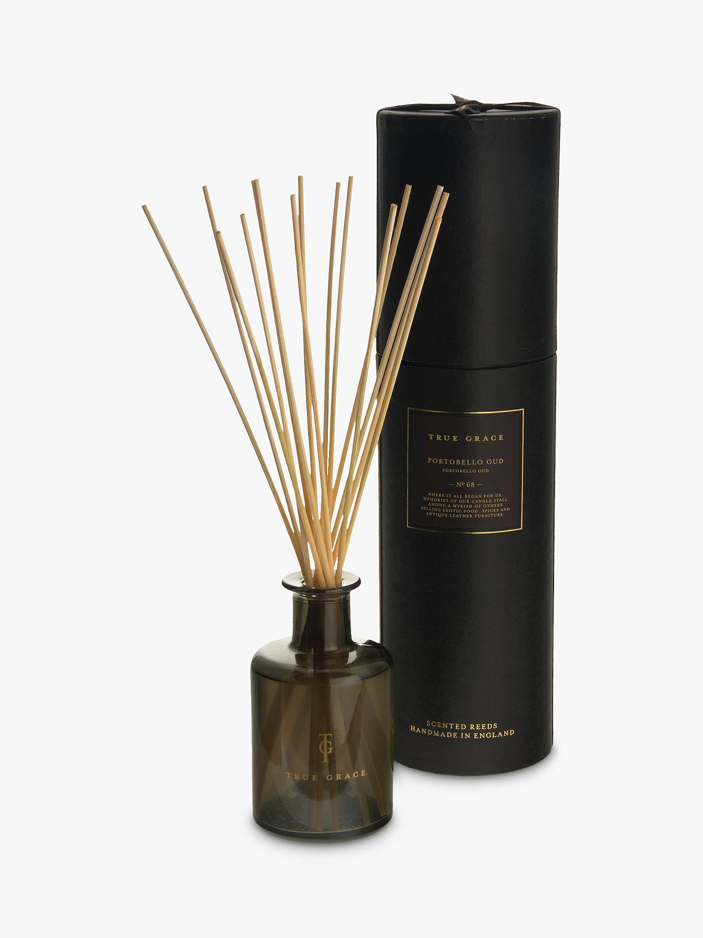 BuyTrue Grace Manor Portobello Oud Reed Diffuser, 250ml Online at johnlewis.com