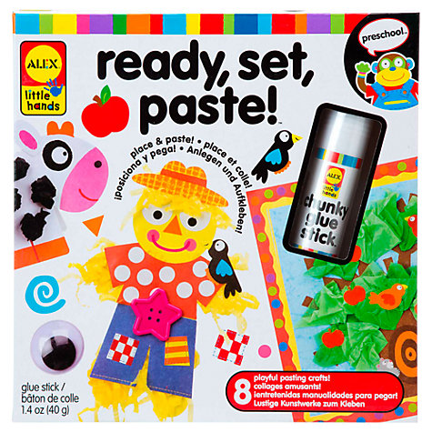 Buy ALEX Ready, Set, Paste! Craft Kit Online at johnlewis.com