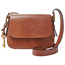 Buy Fossil Harper Leather Small Cross Body Bag Online at johnlewis.com