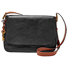 Buy Fossil Harper Leather Large Across Body Bag Online at johnlewis.com