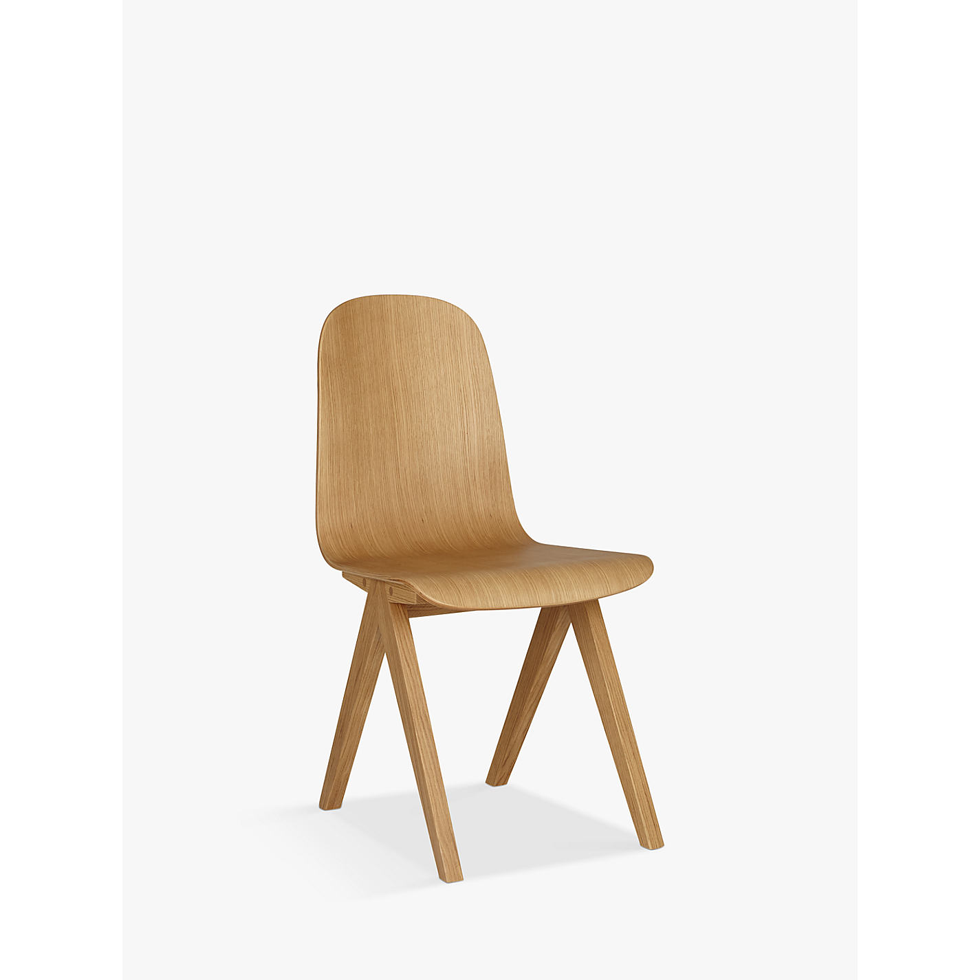 Buy Bethan Gray for John Lewis Newman Plywood Dining Chair Oak