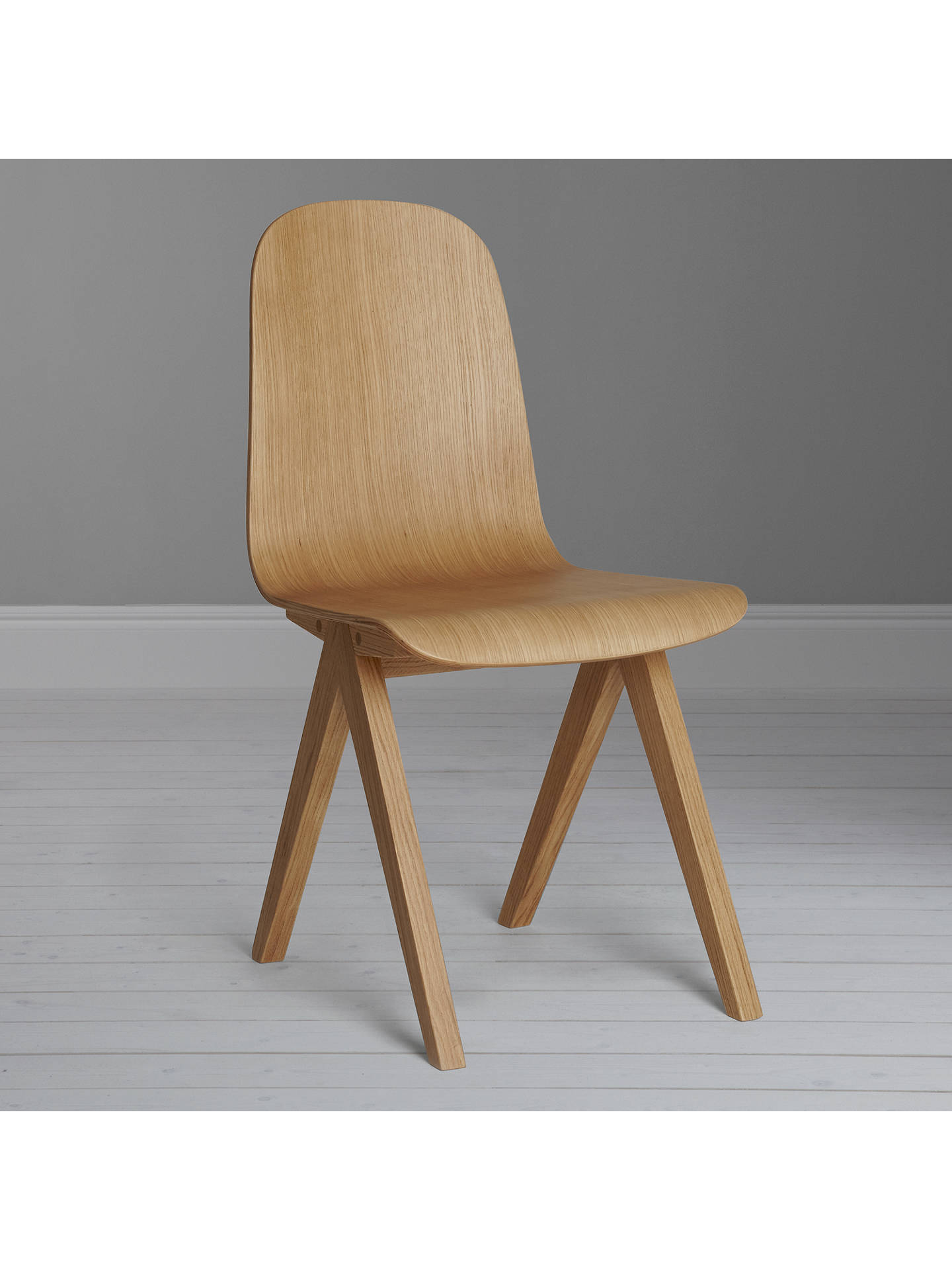 Buy Bethan Gray for John Lewis Newman Plywood Dining Chair, Oak Online at johnlewis.com