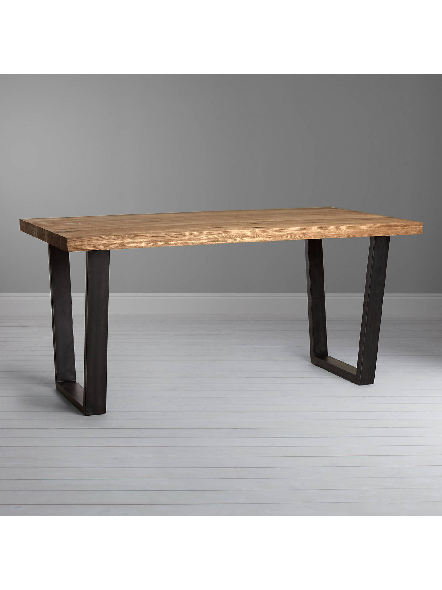Buy John Lewis & Partners Calia 6 Seater Dining Table, Oak Online at johnlewis.com