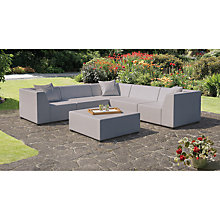 Buy CoSi Amsterdam Weatherproof Outdoor Corner Sofa Set Online at johnlewis.com