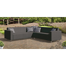Buy CoSi Frejus Weatherproof Outdoor Corner Sofa Online at johnlewis.com