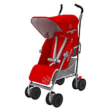 Buy Maclaren Techno XT Stroller, Red/Silver Online at johnlewis.com