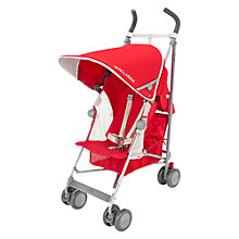 Buy Maclaren Globetrotter Stroller, Red/Silver Online at johnlewis.com