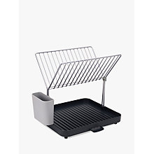 Buy Joseph Joseph Y-Rack 2 Tier Self Draining Dish Rack Online at johnlewis.com