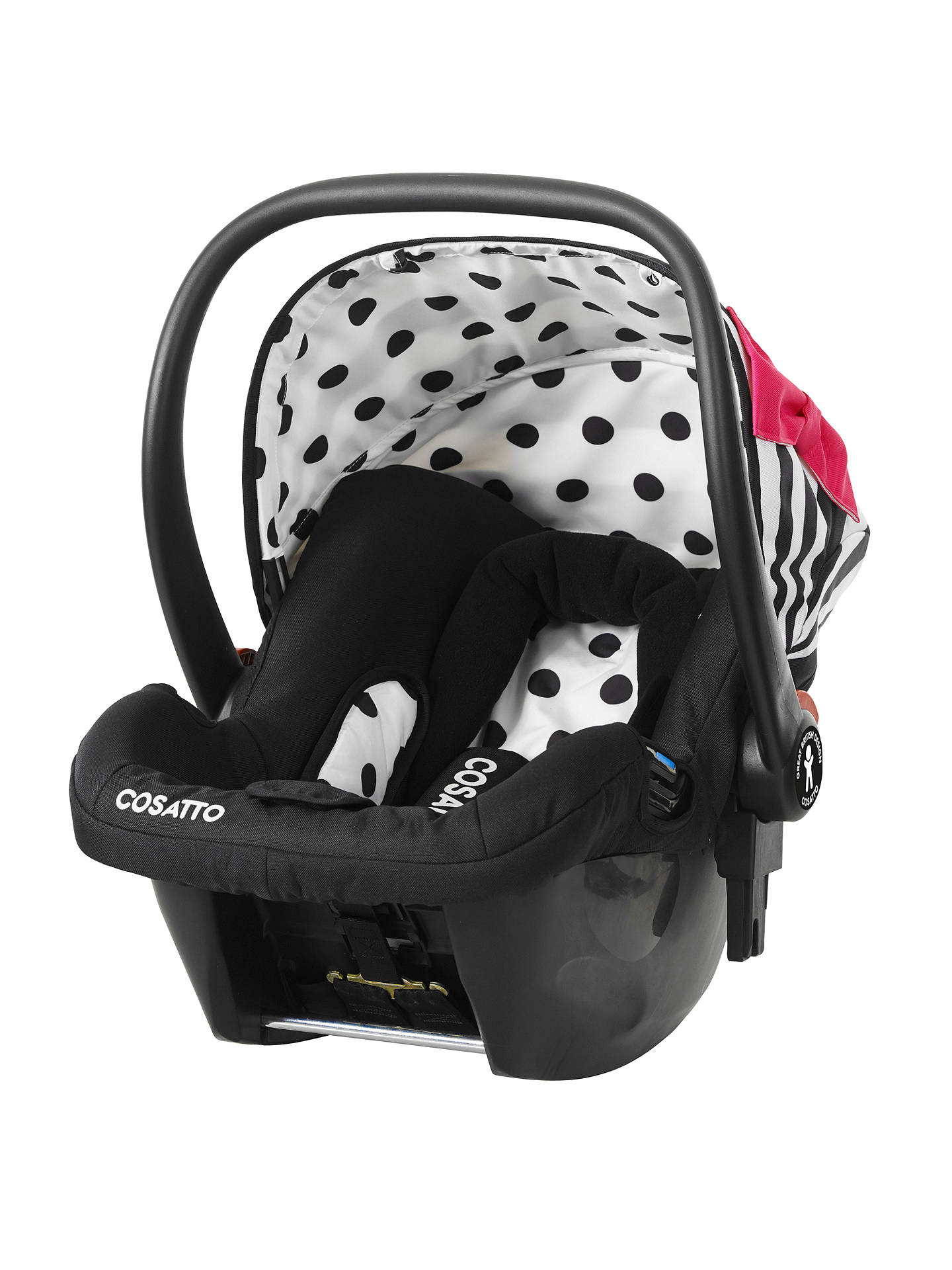 4bb5b91ef335 Cosatto Giggle Hold 5 Point Plus Group 0+ Baby Car Seat