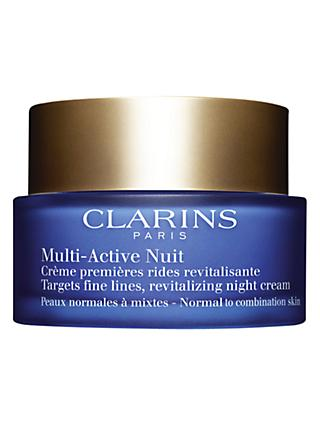 Clarins Multi-Active Night Cream, Normal / Combination Skin, 50ml
