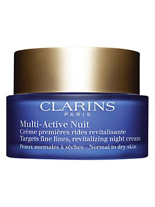 Clarins Multi-Active Night Cream, Normal / Dry Skin, 50ml