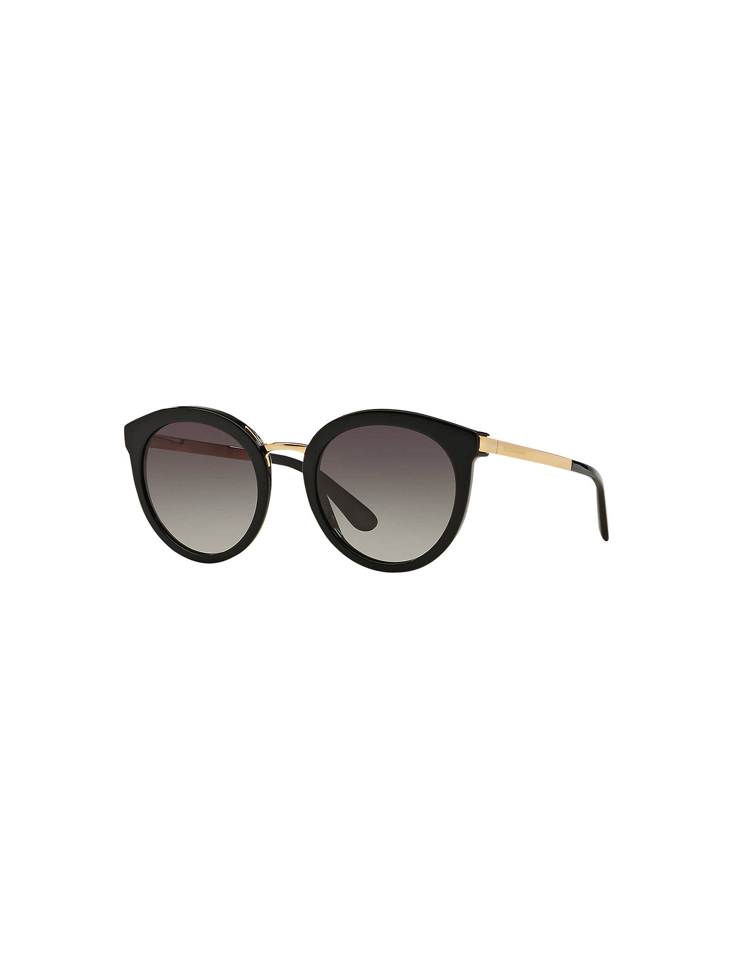 142b5698ee88 Dolce   Gabbana DG4268 Round Sunglasses at John Lewis   Partners