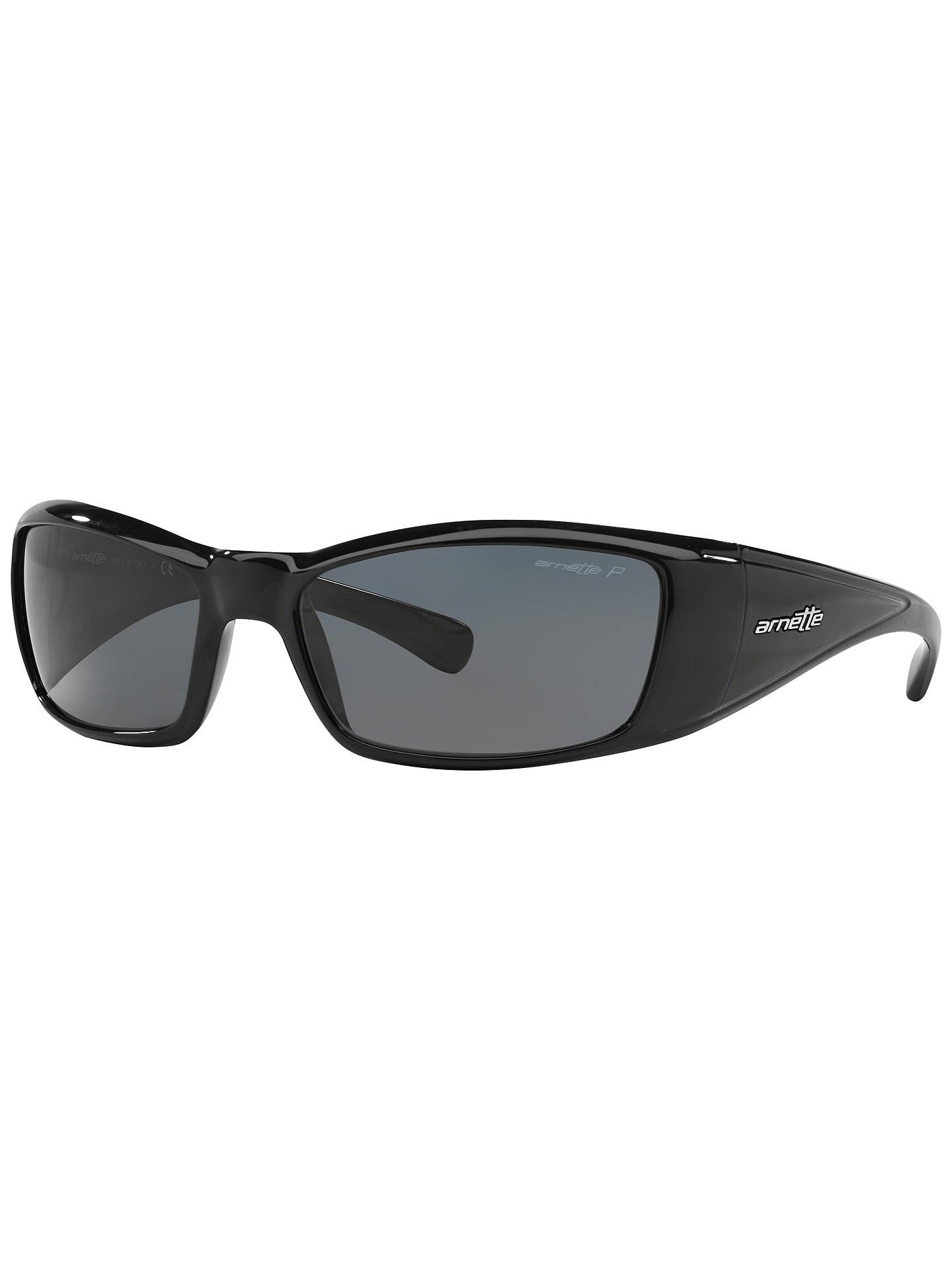 92f351acb2bd Buy Arnette AN4077 Rage XL Rectangle Sunglasses, Black Online at  johnlewis.com ...