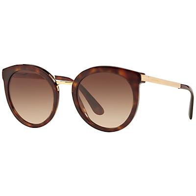 Dolce & Gabbana DG4268 Round Sunglasses