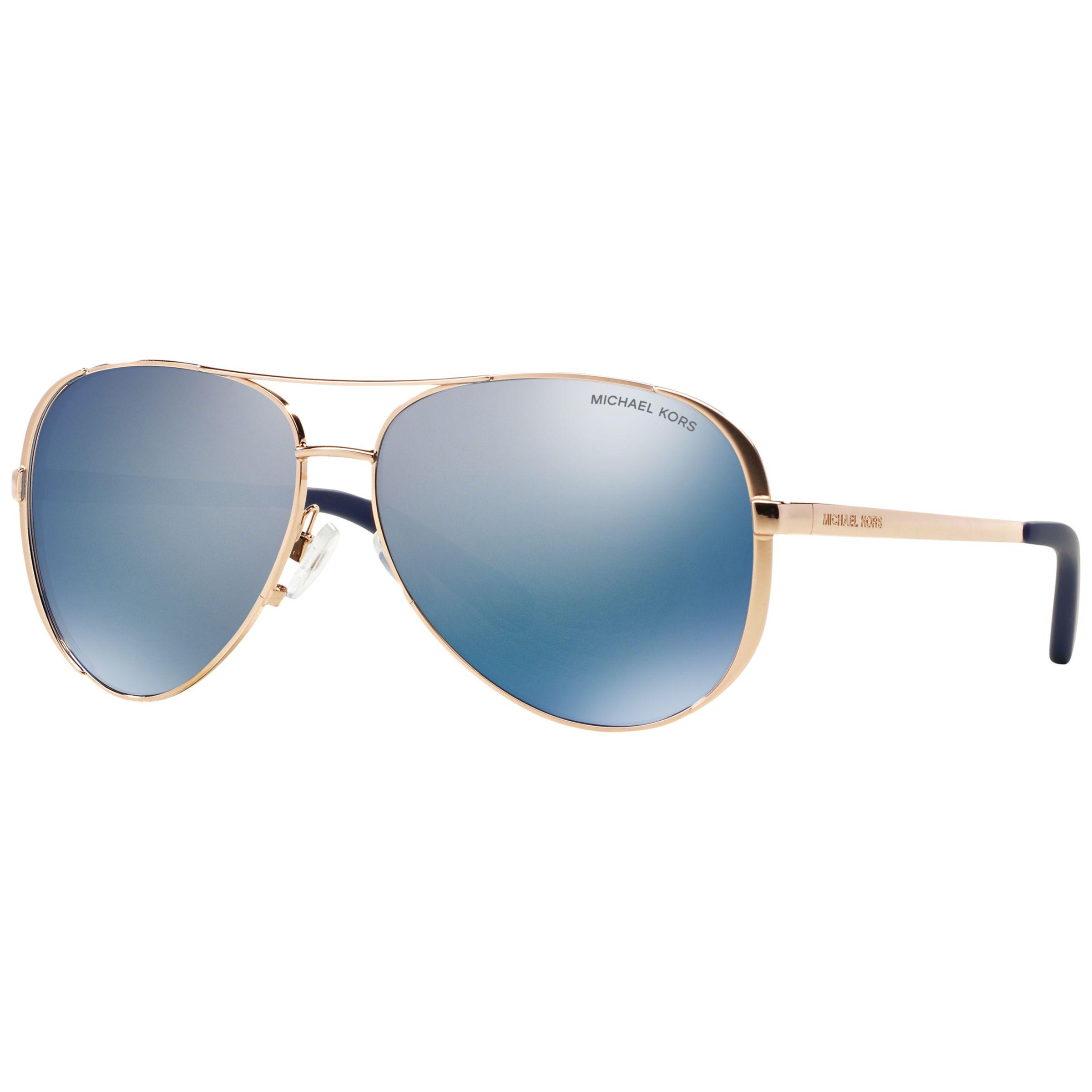 348d1ffedc6 Michael Kors MK5004 Chelsea Polarised Aviator Sunglasses at John Lewis    Partners