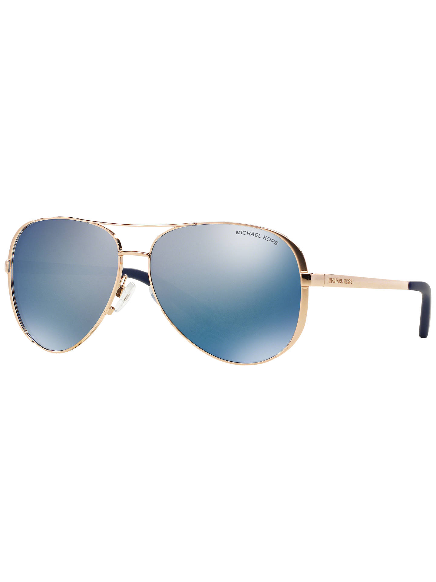 0d12e97b9a2 Michael Kors MK5004 Chelsea Polarised Aviator Sunglasses at John ...