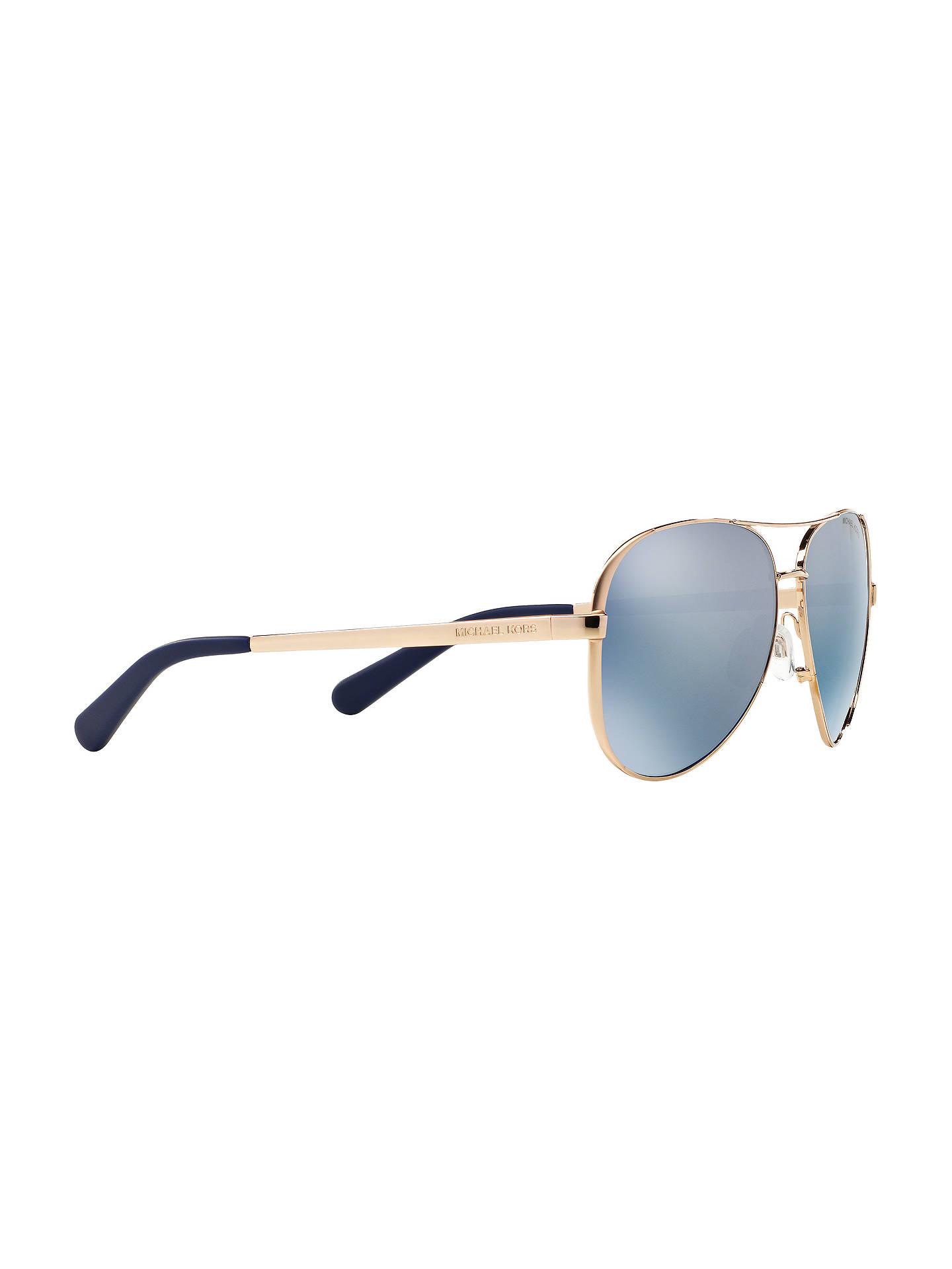 22ad5aabb5 Michael Kors MK5004 Chelsea Polarised Aviator Sunglasses at John ...