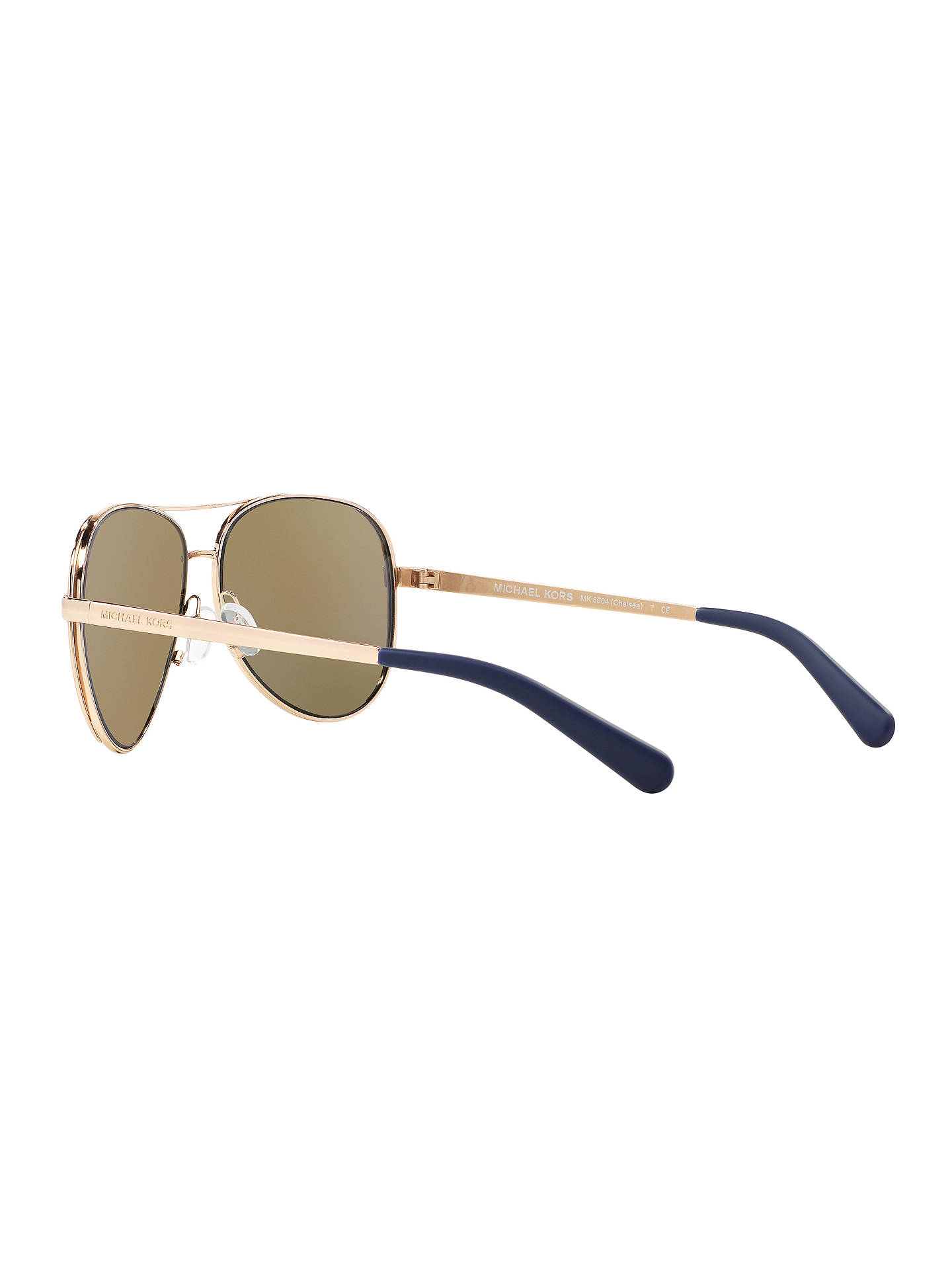 58af8866e5 Michael Kors MK5004 Chelsea Polarised Aviator Sunglasses at John ...