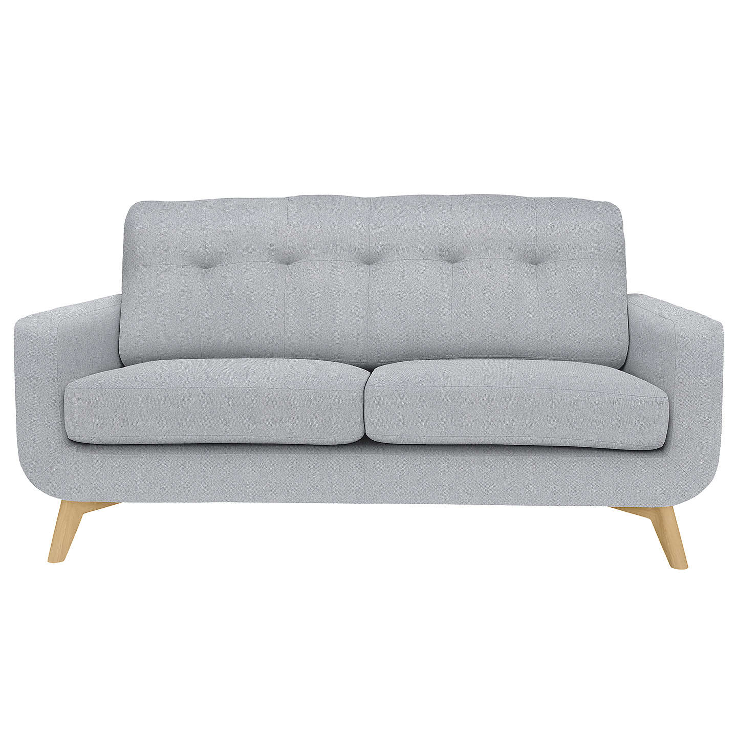 John Lewis Cooper Corner Sofa: John Lewis Barbican Medium 2 Seater Sofa, Dawson Storm At