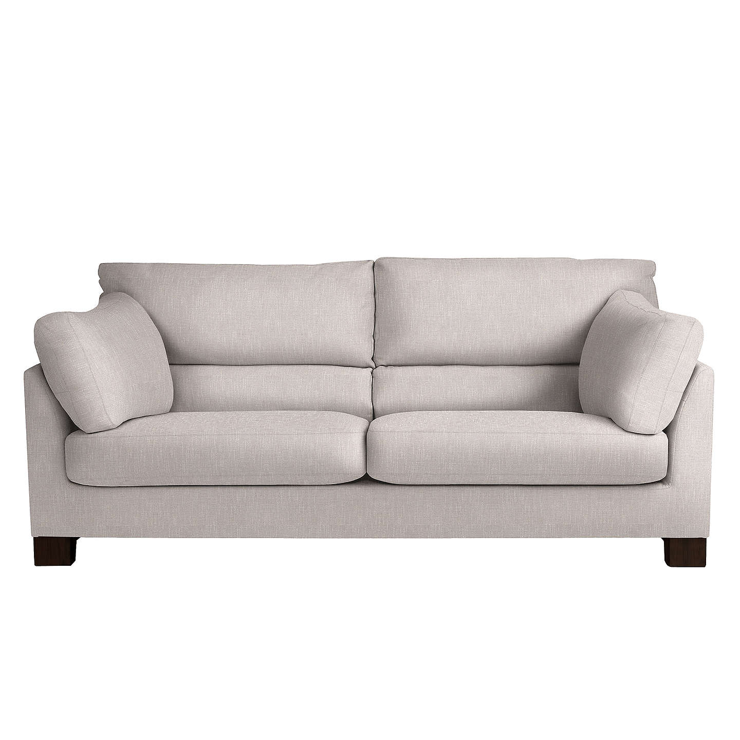 Perfect BuyJohn Lewis Ikon High Back Grand 4 Seater Sofa, Henley French Grey Online  At Johnlewis ...