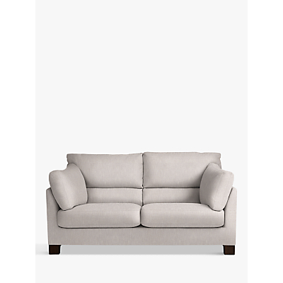 John Lewis Ikon High Back Medium 2 Seater Sofa, Henley French Grey