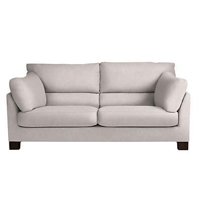 John Lewis Ikon High Back Large 3 Seater Sofa, Henley French Grey