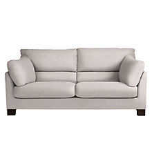 Buy John Lewis Ikon High Back Large 3 Seater Sofa, Henley French Grey Online at johnlewis.com