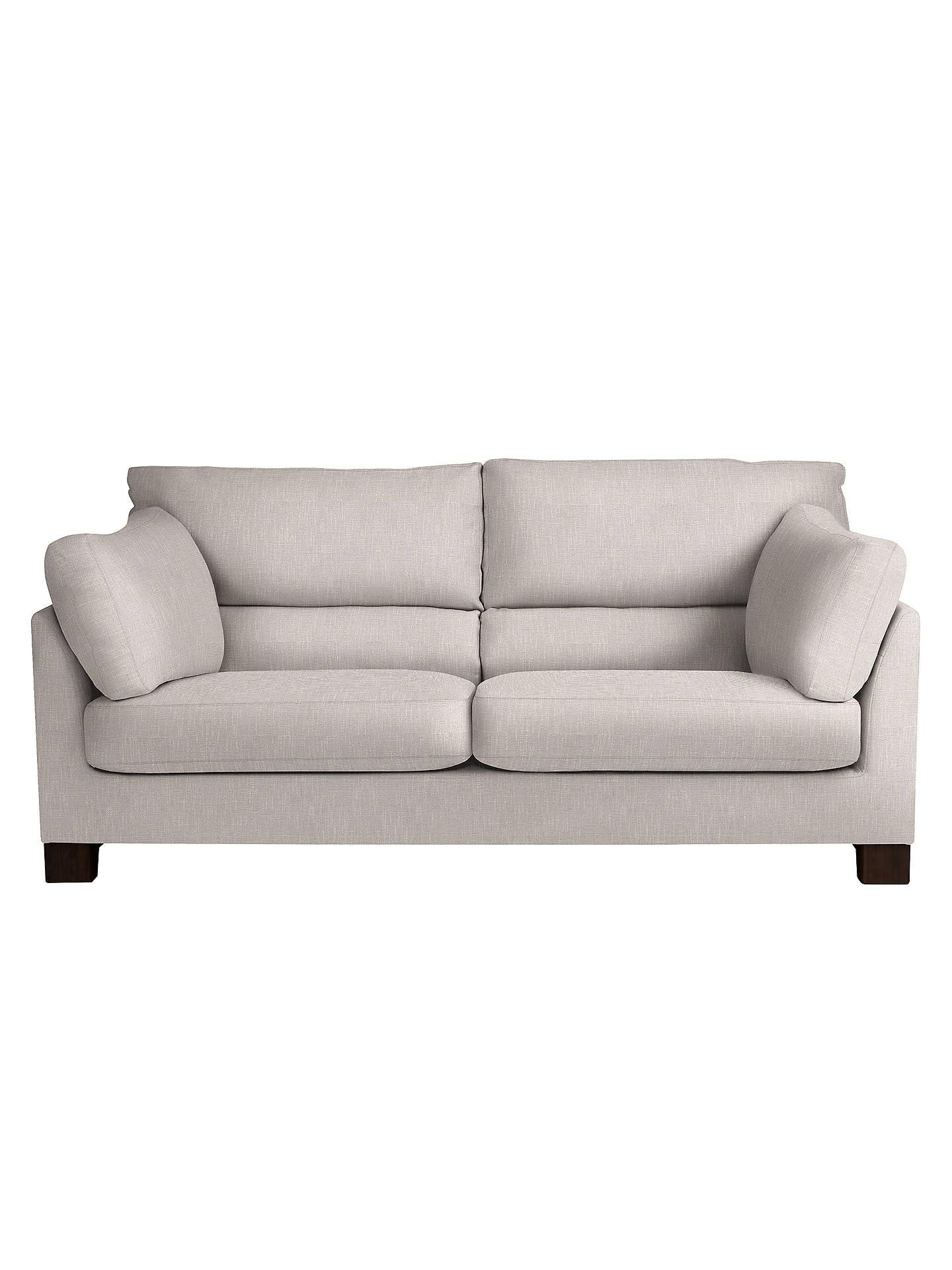 John Lewis Ikon High Back Large 3 Seater Sofa, Henley French ...