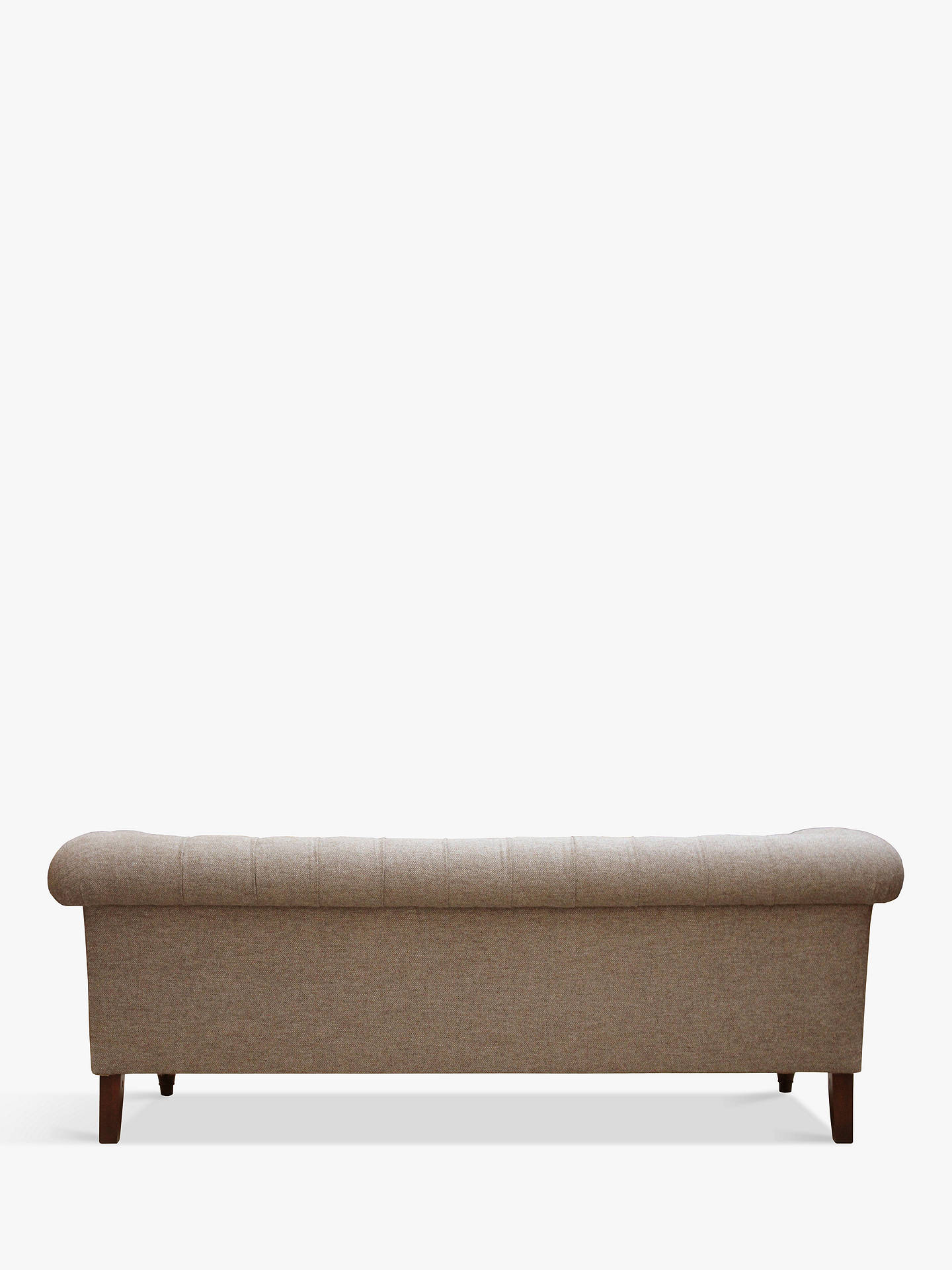 BuyTetrad Gleneagles Grand 4 Seater Sofa, Harris Tweed Heather with Brompton Tan Piping Online at johnlewis.com