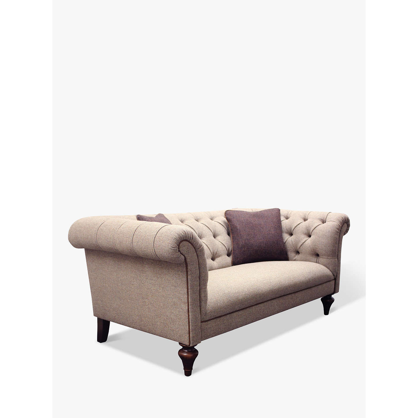 Tetrad Harris Tweed Gleneagles Medium Sofa, Heather Tweed with ...