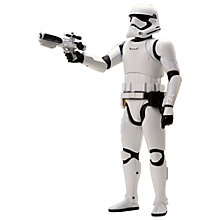 "Buy Star Wars: Episode VII The Force Awakens 18"" First Order Storm Trooper Action Figure Online at johnlewis.com"