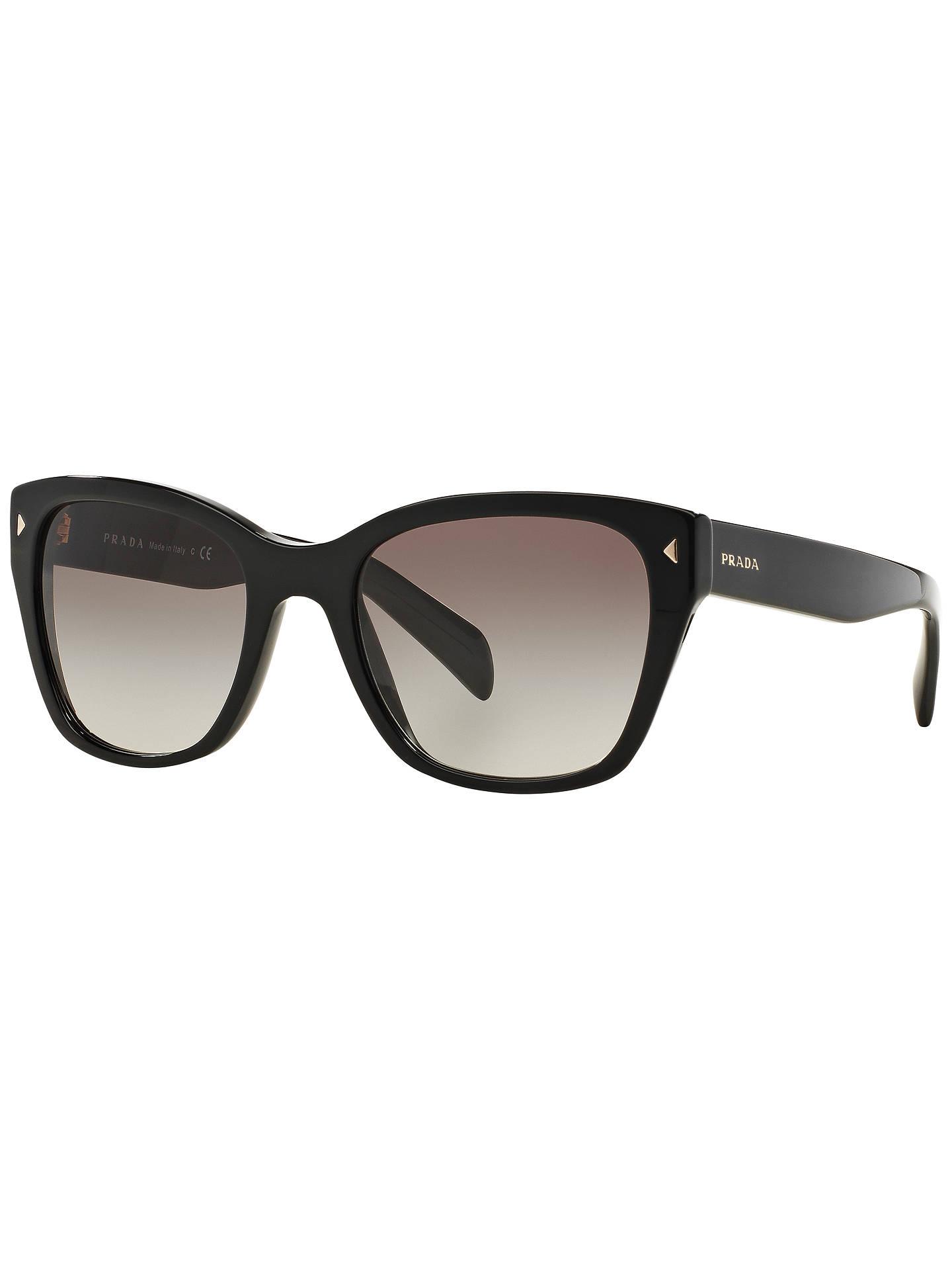 d1584bc606a7 Prada PR09SS Square Sunglasses at John Lewis   Partners