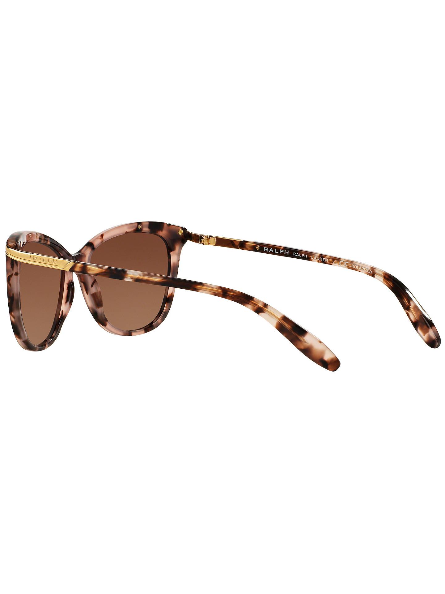 d4d4cdef48 Ralph RA5203 Polarised Cat s Eye Sunglasses at John Lewis   Partners