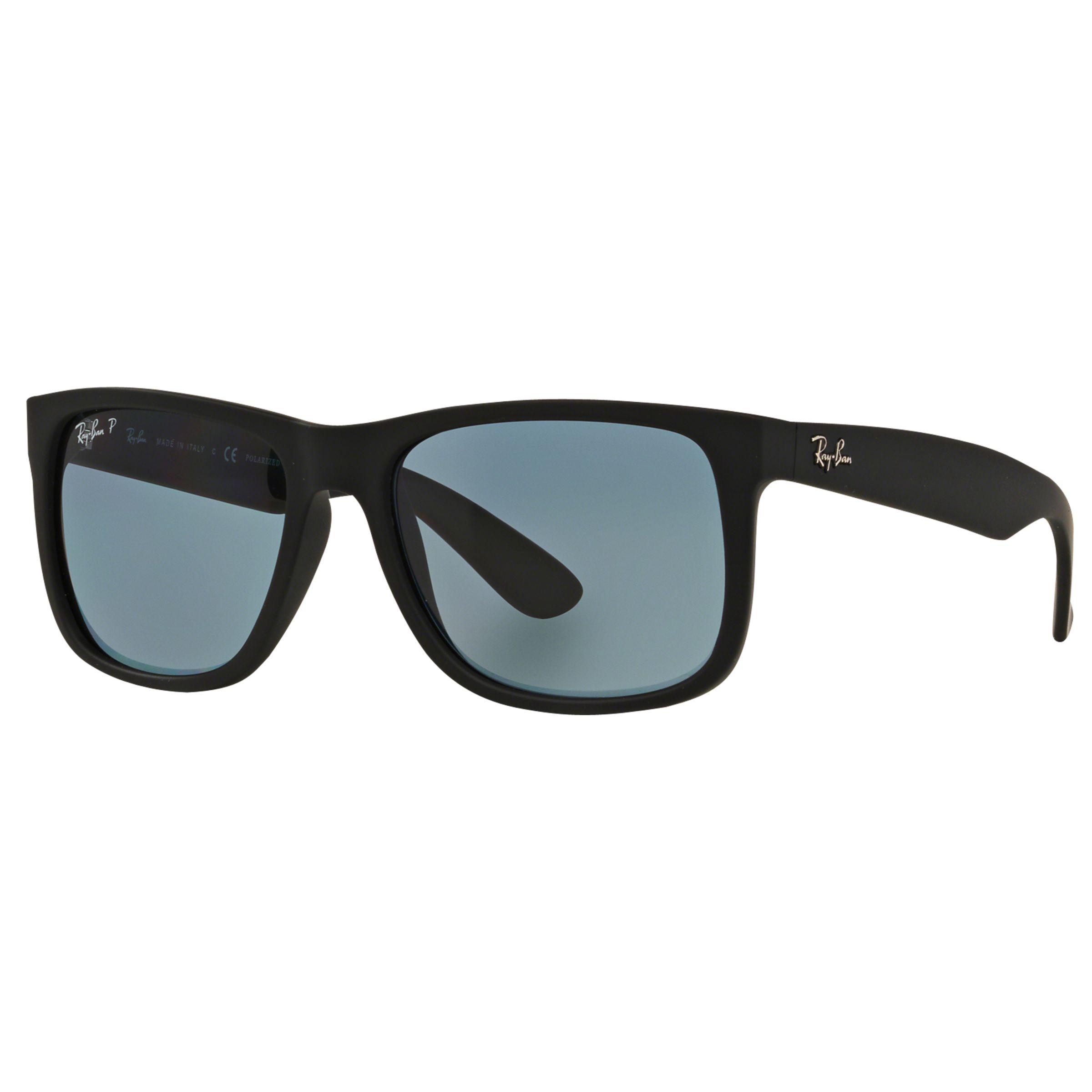 Ray-ban Ray-Ban RB4165 Justin Polarised Wayfarer Sunglasses
