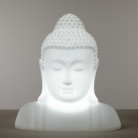 Buy john lewis buddha led colour changing outdoor light john lewis buy john lewis buddha led colour changing outdoor light online at johnlewis mozeypictures Gallery