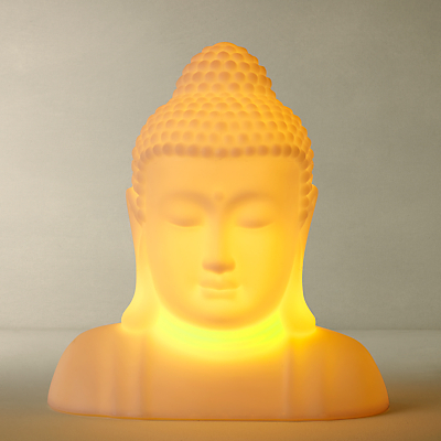 John Lewis Buddha LED Colour Changing Outdoor Light
