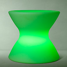 Buy John Lewis Yoyo Stool LED Colour Changing Outdoor Light Online at johnlewis.com