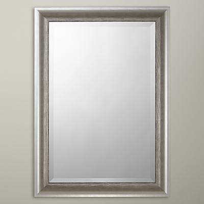 John Lewis Annabelle Wall Mirror, Silver