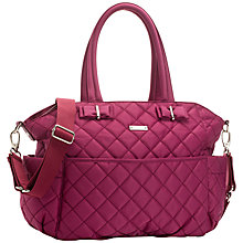 Buy Storksak Bobby Changing Bag, Magenta Online at johnlewis.com