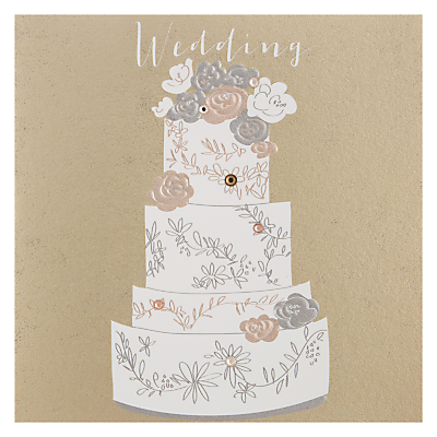 Product photo of Wedding cake wedding card