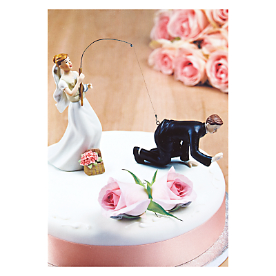 Cake Topper Wedding Card