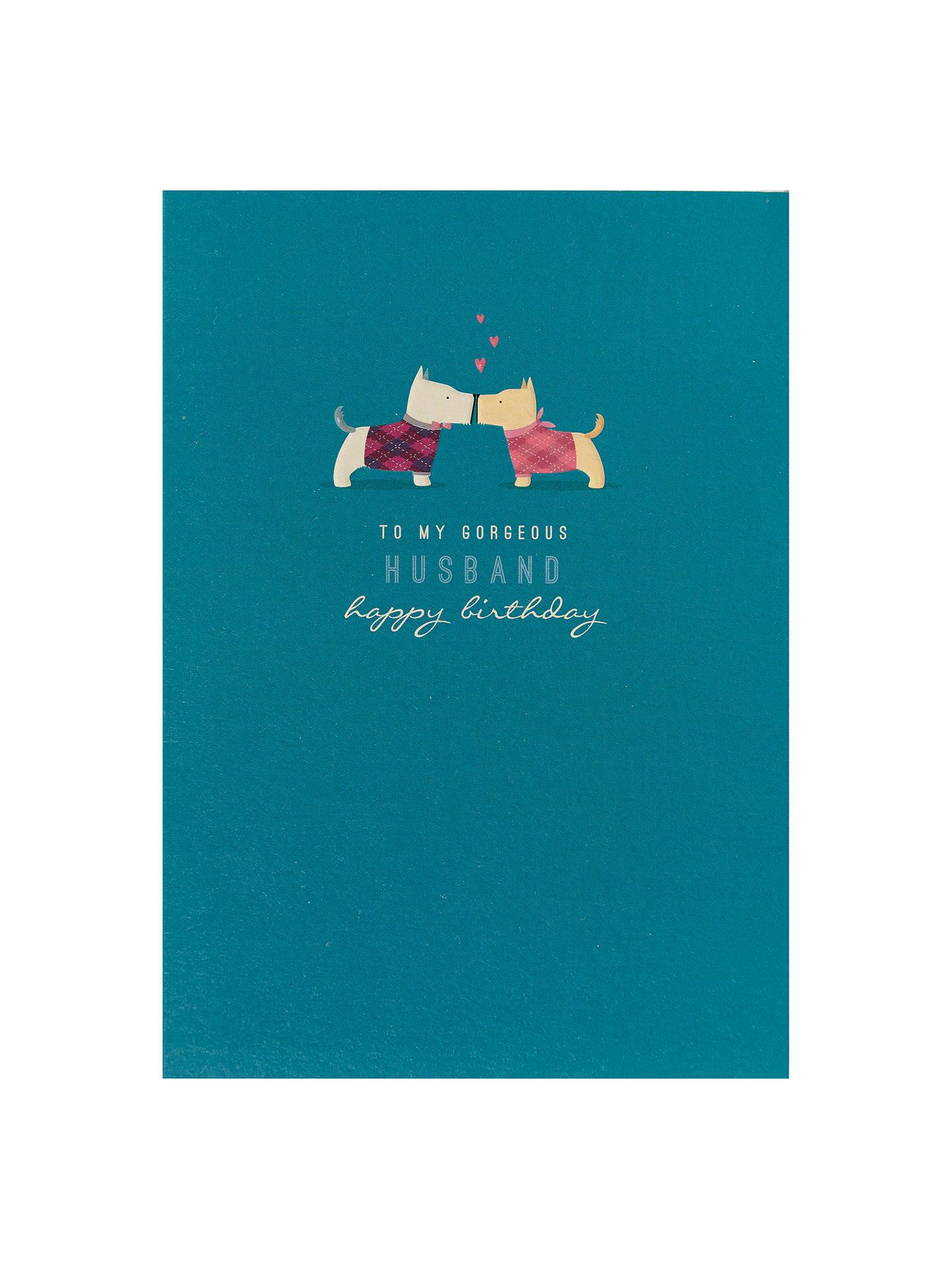 Buy Art File Husband Birthday Card Online At Johnlewis