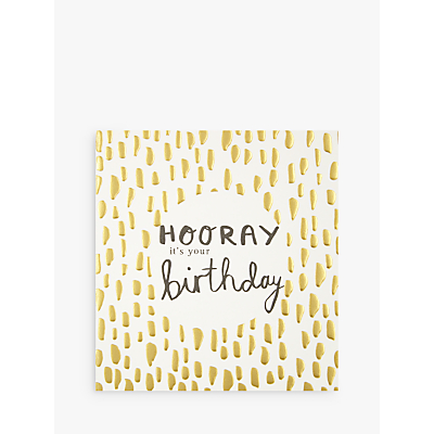 Product photo of Caroline gardner hooray it s your birthday card