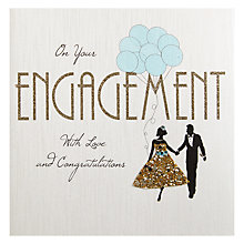Buy Five Dollar Shake On Your Engagement Greetings Card Online at johnlewis.com