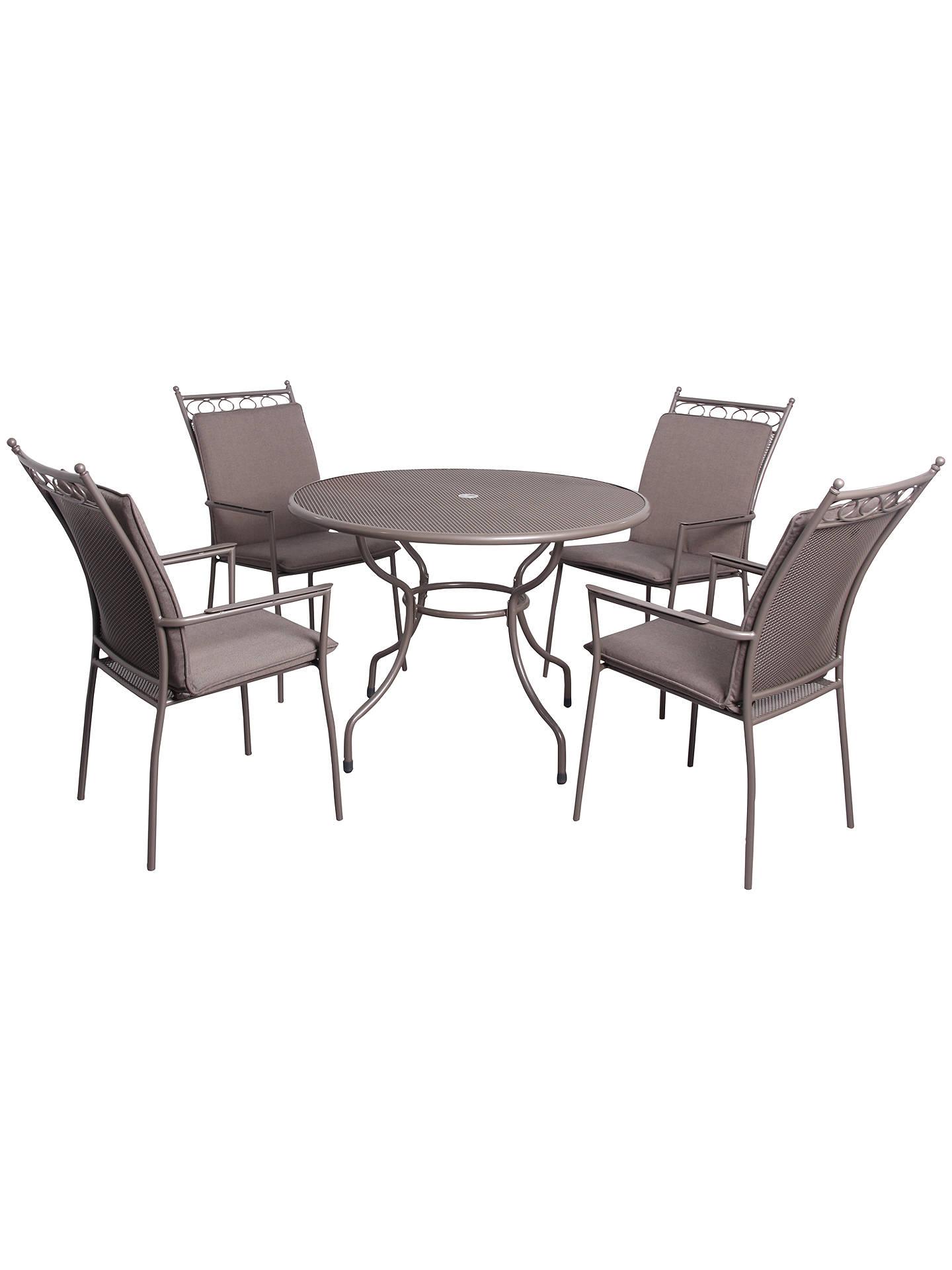 Lg Outdoor Richmond 4 Seater Highback Dining Set Online At Johnlewis