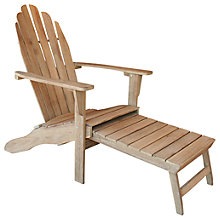 Buy LG Outdoor Hanoi Adirondack Chair, FSC-Certified (Acacia), Natural Online at johnlewis.com