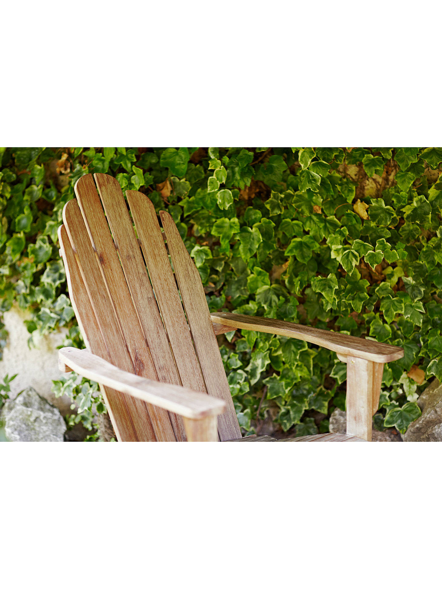 BuyLG Outdoor Hanoi Adirondack Chair, FSC-Certified (Acacia), Natural Online at johnlewis.com