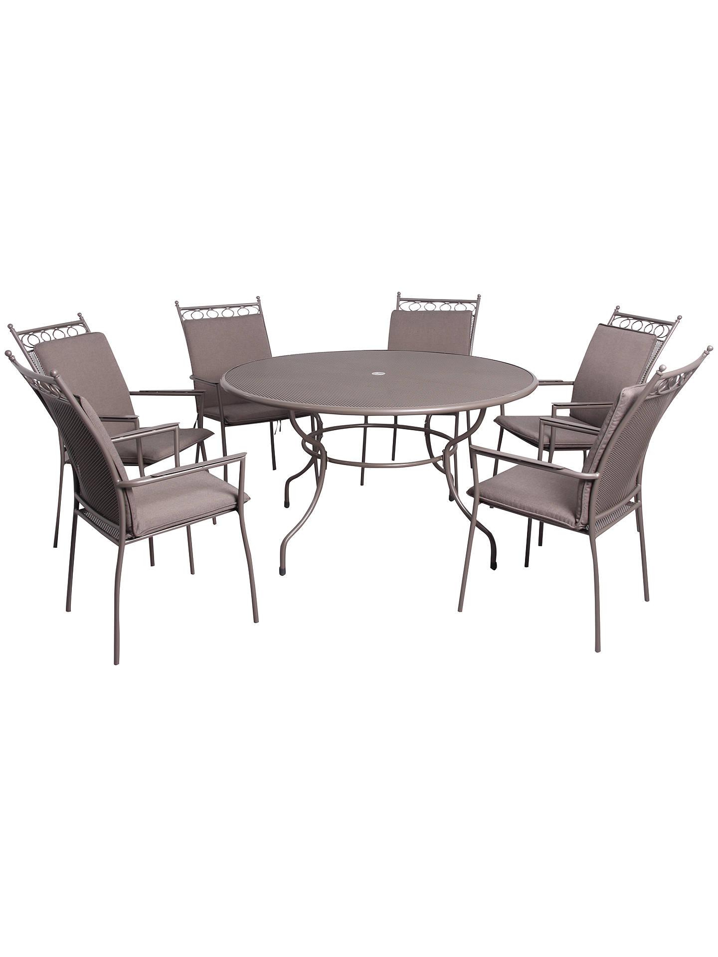 Lg Outdoor Richmond 6 Seater Highback Dining Set Online At Johnlewis