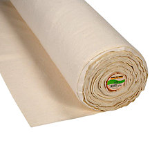 Buy John Lewis Cotton Batting Fabric, Natural Online at johnlewis.com
